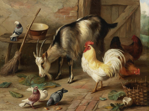 Edgar_Hunt_-_A_Goat_Chicken_and_Doves_in_a_Stable_16x21_pmc2g8__89269.1486397864 (1)